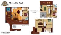UNIT LAYOUT at ABOVE THE REST in Sevier County TN