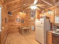 KITCHEN at SNUGGLED IN in Sevier County TN