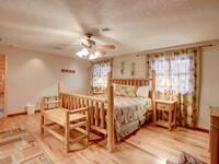 BEDROOM 1 at SMOKEY MTN PARADISE in Gatlinburg TN