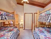 BEDROOM 3 at SMOKEY MTN PARADISE in Gatlinburg TN