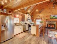 KITCHEN at HOME SWEET HOME in Sevier County TN