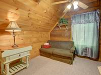 SLEEPER SOFA (UPSTAIRS) at MISS BEE HAVEN in Sevier County TN