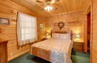 BEDROOM (QUEEN) at A ANGEL HAVEN in Sevier County TN