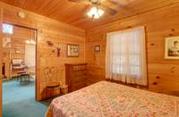 BEDROOM at A ANGEL HAVEN in Sevier County TN