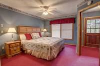 BEDROOM 3 (KING / DOWNSTAIRS) at ABOVE THE TREE TOPS in Pigeon Forge TN