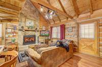 LIVING AREA at AMBERWOOD in Sevier County TN