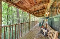 FRONT DECK at BEAR LEE FLYIN in Sevier County TN