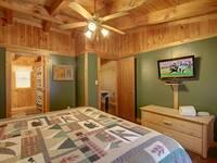 BEDROOM 2 (UPSTAIRS) at HIDDEN TREASURES in Sevier County TN