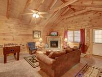 LIVING AREA at HILLSIDE HAVEN in Sevier County TN