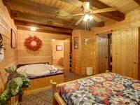 BEDROOM (MAIN LEVEL) at MEDICINE MAN in Sevier County TN