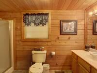 BATHROOM 1 (MAIN LEVEL) at MEDICINE MAN in Sevier County TN