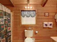 BATHROOM 2 (UPSTAIRS) at MEDICINE MAN in Sevier County TN
