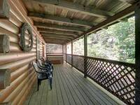 BACK DECK at MEDICINE MAN in Sevier County TN