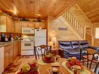 DINING TABLE / KITCHEN at SIMPLE COMFORTS in Sevier County TN