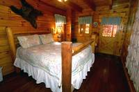 BEDROOM at AUTUMN LEAVES in Sevier County TN