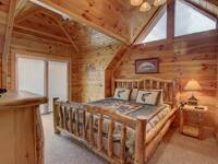 BEDROOM 3 (UPSTAIRS) at SUITE ALTITUDE in Sevier County TN