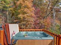 HOT TUB at SUITE ALTITUDE in Sevier County TN