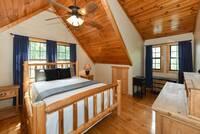 BEDROOM 1 (LOFT) at KANGAROO HUT in Gatlinburg TN