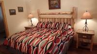 BEDROOM 1 at AMAZING MTN HIDEAWAY in Sevier County TN