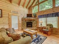 LIVING AREA at AUTUMN BREEZE in Sevier County TN