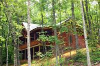 EXTERIOR BACK at WHISPERING WINDS in Sevier County TN