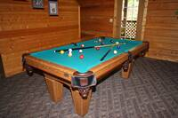 POOL TABLE at MEDICINE MAN in Sevier County TN