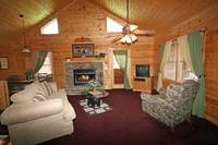 LIVING AREA at FOREVER in Sevier County TN