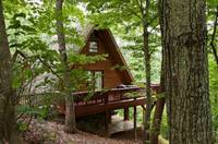EXTERIOR at HEATHERS HIDEAWAY in Sevier County TN