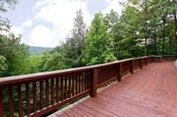 DECK at HEATHERS HIDEAWAY in Sevier County TN