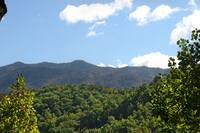 VIEW at A PIECE OF PARADISE in Gatlinburg TN