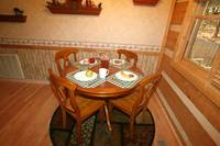 DINING TABLE at SWEET SECLUSION in Pigeon Forge TN