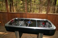 AIR HOCKEY at SWEET SECLUSION in Pigeon Forge TN