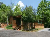 EXTERIOR at XANGELS HIDEOUT in Sevier County TN