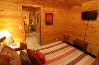BEDROOM 2 at XANGELS HIDEOUT in Sevier County TN