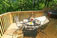 DECK DINING at SHADYBROOK in Sevier County TN