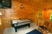 AIR HOCKEY at BEAR TOP HIDEAWAY in Pigeon Forge TN