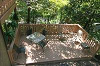 DECK at GRAY WOLF in Sevier County TN