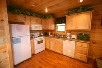KITCHEN at BEARWAY TO HEAVEN in Sevier County TN
