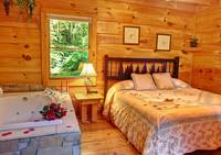 BEDROOM at DREAMCATCHER in Sevier County TN