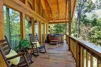 DECK at 2 PEAS IN A POD   in Sevier County TN