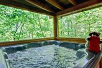 HOT TUB at FOREVER in Sevier County TN
