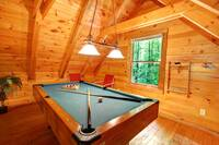 POOL TABLE at AS GOOD AS IT GETS in Sevier County TN