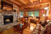 LIVING AREA at WILDWOOD in Sevier County TN