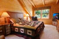 BEDROOM 1 at WILDWOOD in Sevier County TN
