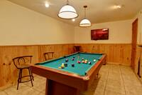 POOL TABLE at WILDWOOD in Sevier County TN