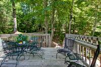 OUTDOOR DINING ON DECK at WILDWOOD in Sevier County TN