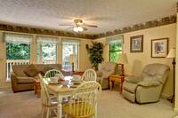 LIVING AREA at XHELENS HAVEN in Sevier County TN