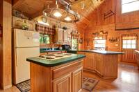 KITCHEN at COUNTRY CHARM in Sevier County TN