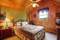 BEDROOM 1 at COUNTRY CHARM in Sevier County TN