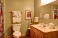 BATHROOM at COUNTRY CHARM in Sevier County TN